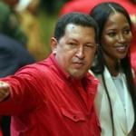 Il folle amore tra Naomi Campbell e Hugo Chavez