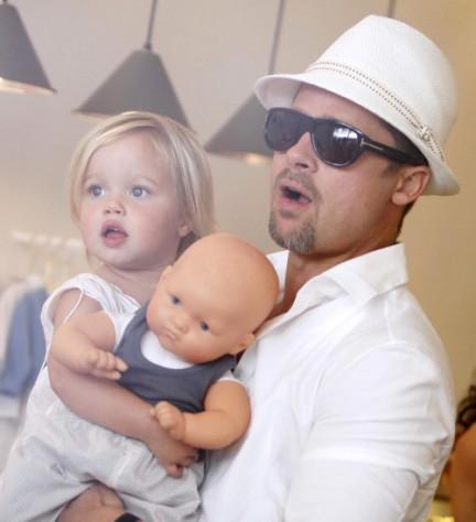 Come si chiameranno le gemelle Jolie - Pitt?