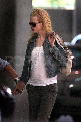 La pancetta di Nicole Kidman dopo il parto