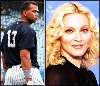 Madonna chiede il terzo figlio ad Alex Rodriguez