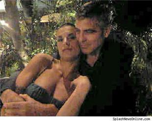 E' scoppiato l'amore tra George Clooney e Elisabetta Canalis!