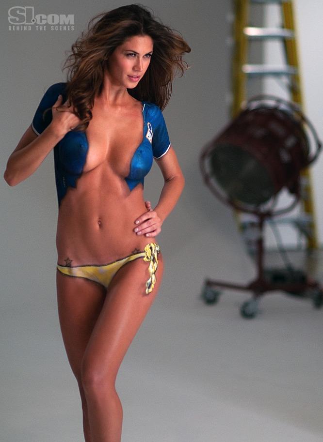 Calendario Melissa Satta.Melissa Satta Nudo Artistico Per Sport Illustrated Si Mormora