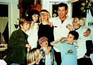 Mel gibson e famiglia